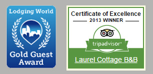 Laurel Cottage - Bed & Breakfast in Bowness-on-Windermere- Awards
